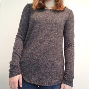 old navy grey long sleeve sweater